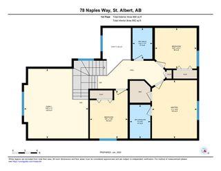 Photo 50: 78 NAPLES Way: St. Albert House for sale : MLS®# E4186025