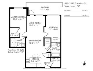 Photo 27: 411 2477 CAROLINA STREET in Vancouver: Mount Pleasant VE Condo for sale (Vancouver East)  : MLS®# R2485517