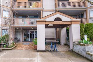 """Photo 1: 108 19131 FORD Road in Pitt Meadows: Central Meadows Condo for sale in """"Woodford Manor"""" : MLS®# R2452935"""