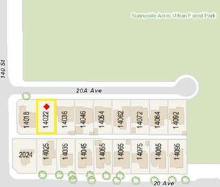 Main Photo: 14022 20A Avenue in Surrey: Sunnyside Park Surrey Land for sale (South Surrey White Rock)  : MLS®# R2480454
