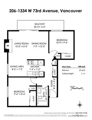 "Photo 20: 206 1334 W 73RD Avenue in Vancouver: Marpole Condo for sale in ""LA ROSA VILLA"" (Vancouver West)  : MLS®# R2388218"
