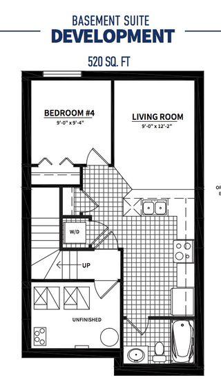 Photo 34: 20930 95 Avenue in Edmonton: Zone 58 House Half Duplex for sale : MLS®# E4192775