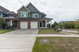 "Photo 1: 7245 190 Street in Surrey: Clayton House 1/2 Duplex for sale in ""CLAYTON"" (Cloverdale)  : MLS®# R2394026"