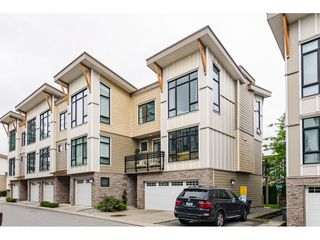 "Main Photo: 62 9989 BARNSTON Drive in Surrey: Fraser Heights Townhouse for sale in ""HIGHCREST"" (North Surrey)  : MLS®# R2471184"