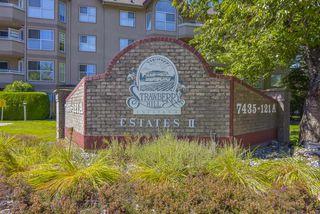 "Main Photo: 213 7435 121A Street in Surrey: West Newton Condo for sale in ""STRAWBERRY HILLS ESTATES II"" : MLS®# R2489912"