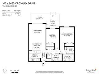 "Photo 32: 102 3463 CROWLEY Drive in Vancouver: Collingwood VE Condo for sale in ""Macgregor Court"" (Vancouver East)  : MLS®# R2498369"
