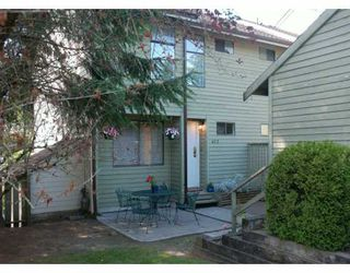 "Photo 1: 452 LEHMAN PL in Port Moody: North Shore Pt Moody Townhouse for sale in ""EAGLE POINT"" : MLS®# V598310"