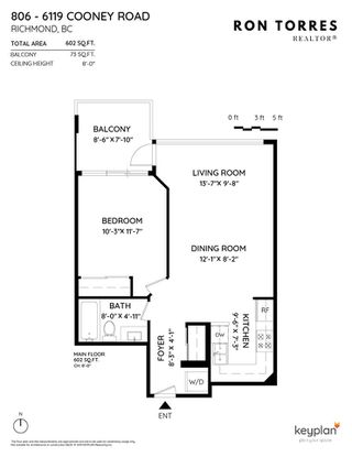 "Photo 25: 806 6119 COONEY Road in Richmond: Brighouse Condo for sale in ""ROSARIO GARDEN"" : MLS®# R2466489"