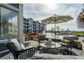 "Main Photo: 103 4500 WESTWATER Drive in Richmond: Steveston South Condo for sale in ""COPPER SKY WEST"" : MLS®# R2447932"