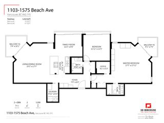 Photo 32: 1103 1575 BEACH AVENUE in Vancouver: West End VW Condo for sale (Vancouver West)  : MLS®# R2479197