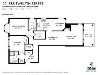 "Photo 2: 201 588 TWELFTH Street in New Westminster: Uptown NW Condo for sale in ""The Regency"" : MLS®# R2528154"