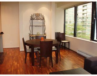 """Photo 4: 509 1333 W GEORGIA Street in Vancouver: Coal Harbour Condo for sale in """"QUBE"""" (Vancouver West)  : MLS®# V654810"""