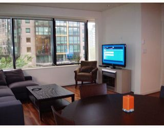 """Photo 3: 509 1333 W GEORGIA Street in Vancouver: Coal Harbour Condo for sale in """"QUBE"""" (Vancouver West)  : MLS®# V654810"""
