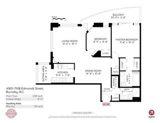 """Photo 20: 901 7108 EDMONDS Street in Burnaby: Edmonds BE Condo for sale in """"THE PARKHILL"""" (Burnaby East)  : MLS®# R2404723"""