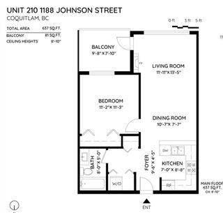 "Photo 18: 210 1188 JOHNSON Street in Coquitlam: Eagle Ridge CQ Condo for sale in ""MAYA"" : MLS®# R2420887"