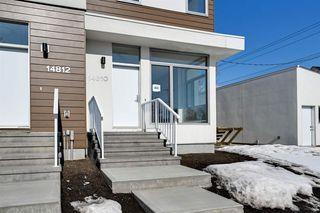 Photo 3: 14810 98 Avenue in Edmonton: Zone 10 Townhouse for sale : MLS®# E4194020
