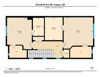 Photo 34: 103 449 20 Avenue NE in Calgary: Winston Heights/Mountview Row/Townhouse for sale : MLS®# A1010445