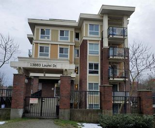 "Photo 2: 317 13883 LAUREL Drive in Surrey: Whalley Condo for sale in ""EMERALD HEIGHTS"" (North Surrey)  : MLS®# R2477039"