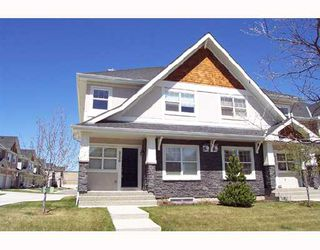 Photo 1: 8536 wentworth Drive SW in CALGARY: West Springs Townhouse for sale (Calgary)  : MLS®# C3326850