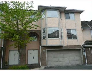 Photo 1: 14 8120 GENERAL CURRIE Road in Richmond: Brighouse South Townhouse for sale : MLS®# V711088