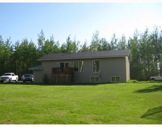 "Photo 1: 8250 JOHNSON Road in Prince_George: Pineview House for sale in ""PINEVIEW"" (PG Rural South (Zone 78))  : MLS®# N183293"