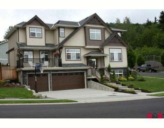 """Photo 1: 36288 WESTMINSTER Drive in Abbotsford: Abbotsford East House for sale in """"Kensington Park"""" : MLS®# F2817721"""