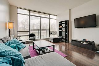 """Photo 2: 412 121 BREW Street in Port Moody: Port Moody Centre Condo for sale in """"ROOM"""" : MLS®# R2447854"""