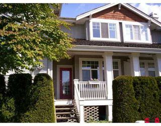 "Photo 1: 2 14877 58TH Ave in Surrey: Sullivan Station Townhouse for sale in ""REDMILL"" : MLS®# F2710595"