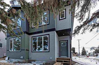 Photo 1: 4249 115 Avenue in Edmonton: Zone 23 House Half Duplex for sale : MLS®# E4189793