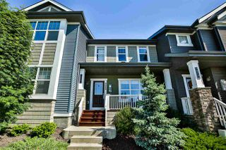 Photo 1: 9080 ROSENTHAL Link in Edmonton: Zone 58 Attached Home for sale : MLS®# E4202748