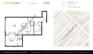 Photo 19: 905 819 HAMILTON Street in Vancouver: Downtown VW Condo for sale (Vancouver West)  : MLS®# R2509876