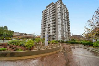 "Photo 1: 902 575 DELESTRE Avenue in Coquitlam: Coquitlam West Condo for sale in ""Cora Towers"" : MLS®# R2528092"