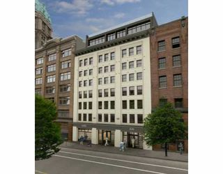 "Photo 1: 205 528 BEATTY Street in Vancouver: Downtown VW Condo for sale in ""BOWMAN BLOCK"" (Vancouver West)  : MLS®# V636251"