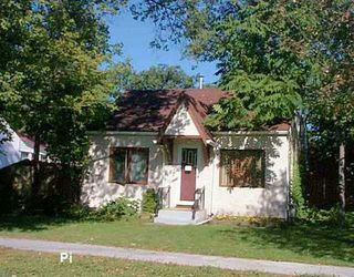 Photo 1: 149 PILGRIM Avenue in Winnipeg: St Vital Single Family Detached for sale (South East Winnipeg)  : MLS®# 2514318
