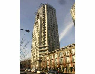 "Photo 1: 989 BEATTY Street in Vancouver: Downtown VW Condo for sale in ""THE NOVA"" (Vancouver West)  : MLS®# V629148"