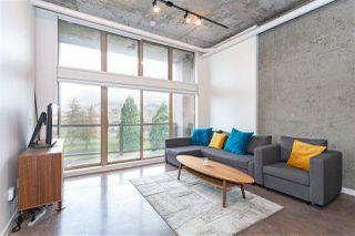 "Photo 2: 307 1529 W 6TH Avenue in Vancouver: False Creek Condo for sale in ""WSIX/SOUTH GRANVILLE LOFTS"" (Vancouver West)  : MLS®# R2464010"