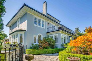 Photo 1: 1611 Cedar Crescent in Vancouver: Shaughnessy House for sale (Vancouver West)  : MLS®# R2517533