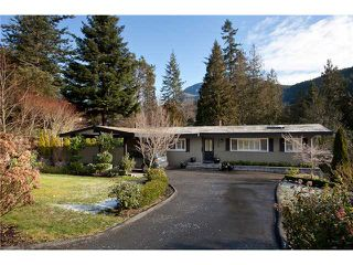 Photo 1: 6230 ST GEORGES AV in West Vancouver: Gleneagles House for sale : MLS®# V872241