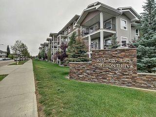 Photo 2: 1321 9363 Simpson Drive in Edmonton: Zone 14 Condo for sale : MLS®# E4184610