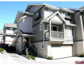 "Photo 1: 35 6651 203RD Street in Langley: Willoughby Heights Townhouse for sale in ""Sunscape"" : MLS®# F2719428"