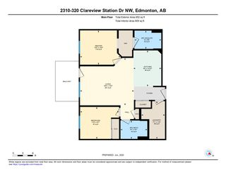 Photo 34: 2310 320 Clareview Station Drive in Edmonton: Zone 35 Condo for sale : MLS®# E4214027