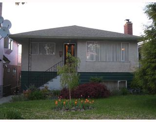 Photo 1: 3257 E 18TH Avenue in Vancouver: Renfrew Heights House for sale (Vancouver East)  : MLS®# V710153