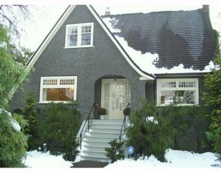Photo 1: 1030 DEVONSHIRE in Vancouver: Shaughnessy House for sale (Vancouver West)  : MLS®# V623078