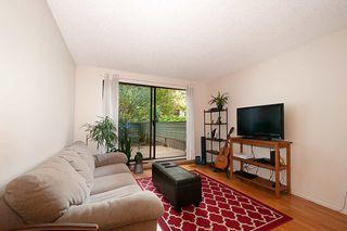 "Photo 1: 206 2119 BELLEVUE Avenue in West Vancouver: Dundarave Condo for sale in ""Bellevue Gardens"" : MLS®# R2480654"