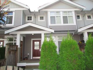 "Photo 1: #110 20449 66TH AVE in LANGLEY: Willoughby Heights Townhouse for rent in ""NATURE'S LANDING"" (Langley)"