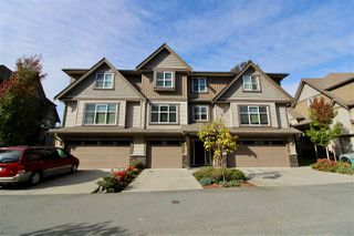 """Main Photo: 22 45085 WOLFE Road in Chilliwack: Chilliwack W Young-Well Townhouse for sale in """"TOWNSEND TERRACE"""" : MLS®# R2409388"""