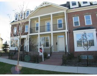 Photo 1: 147 Couture Crescent SW in CALGARY: Garrison Green Townhouse for sale (Calgary)  : MLS®# C3261879