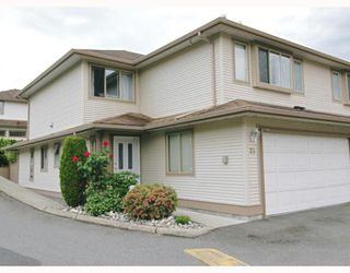 "Main Photo: 35 22280 124TH Avenue in Maple_Ridge: West Central Townhouse for sale in ""HILLSIDE TERRACE"" (Maple Ridge)  : MLS®# V650385"