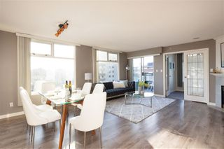 Main Photo: 801 720 CARNARVON Street in New Westminster: Downtown NW Condo for sale : MLS®# R2446971