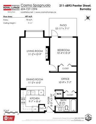 "Photo 23: 211 6893 PRENTER Street in Burnaby: Highgate Condo for sale in ""VENTURA"" (Burnaby South)  : MLS®# R2475856"
